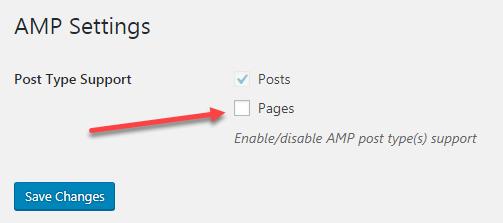 Hướng dẫn sử dụng plugin AMP for WordPress